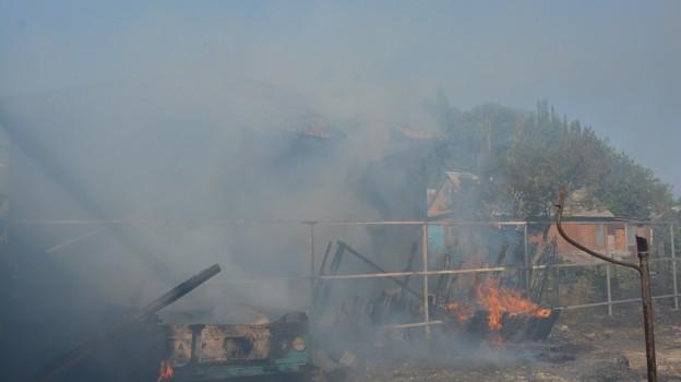 Житель Боброва нечаянно поджег соседский дом