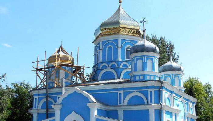 Собор Успения Пресвятой Богородицы города Боброва