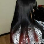 окрашивание волос в боброве