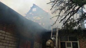 пожар в боброве май