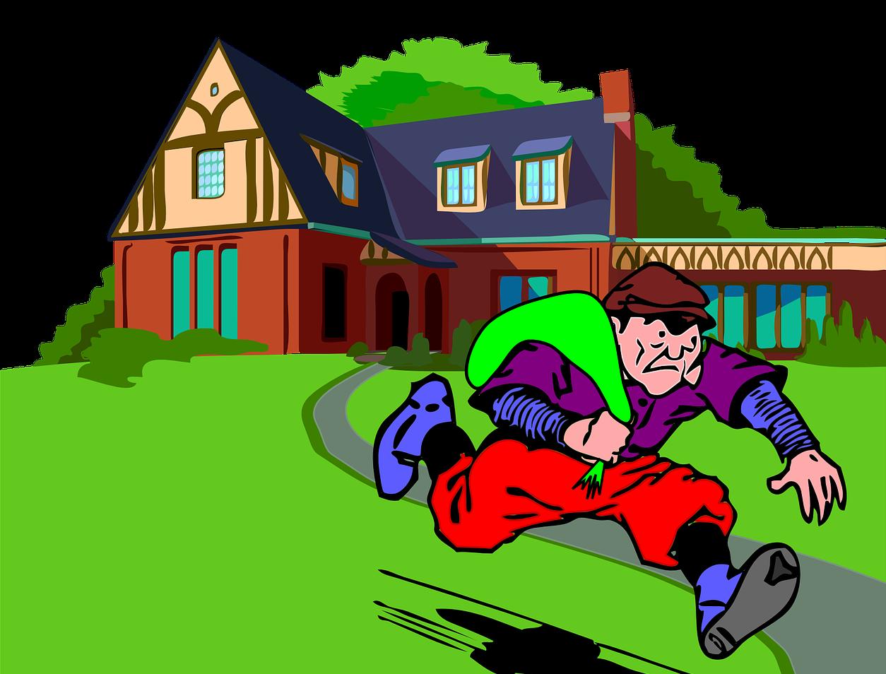 преступник обворовал дом в боброве