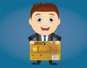 банкир держит карту