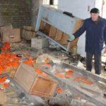 заброшенный военный склад в боброве
