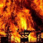 пожар в селе шестаково