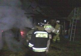 пожар в сухой берёзовке 20 06 17
