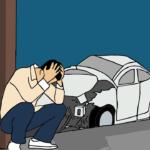 авария с грузовиком в боброве