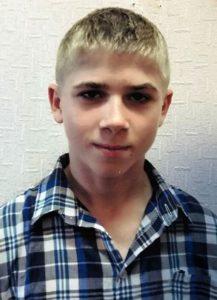 16-летний Никита Живоглазовиз Бобровской школы-интерната