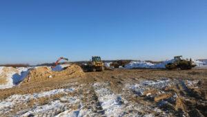 строительство дороги в обход боброва с юго-востока 2