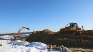 строительство дороги в обход боброва с юго-востока