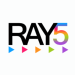 Логотип веб-студии RAY5