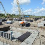 начало строительства нового сырзавода в боброве