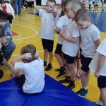 ГТО в Боброве для детсадовцев пресс