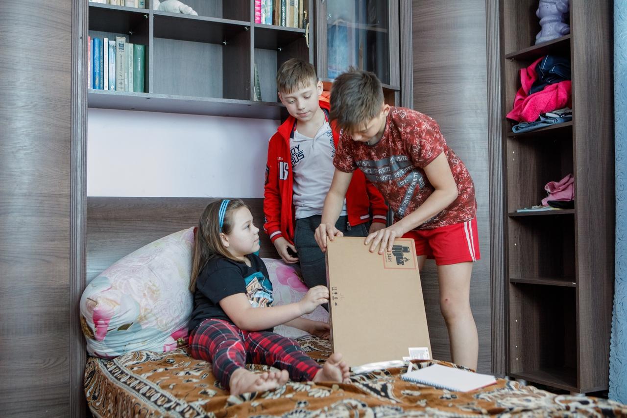 Помоги учиться дома в Боброве