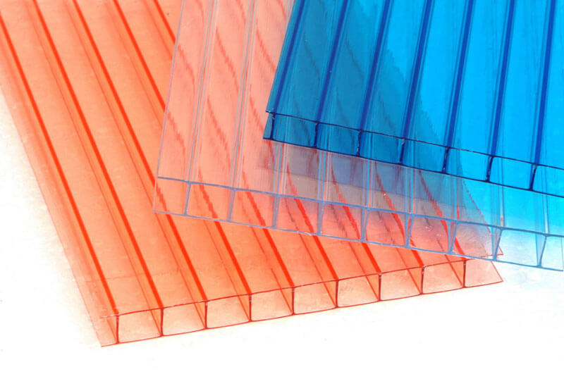 цвета поликарбоната для теплицы