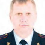 участковый полиции Юрьев Евгений Владимирович