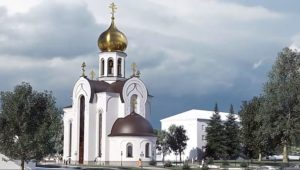 церковь святой живоначальной троицы в боброве рендер 3