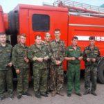 Нормативы ГТО сдали сотрудники пожарных частей Бобровского района