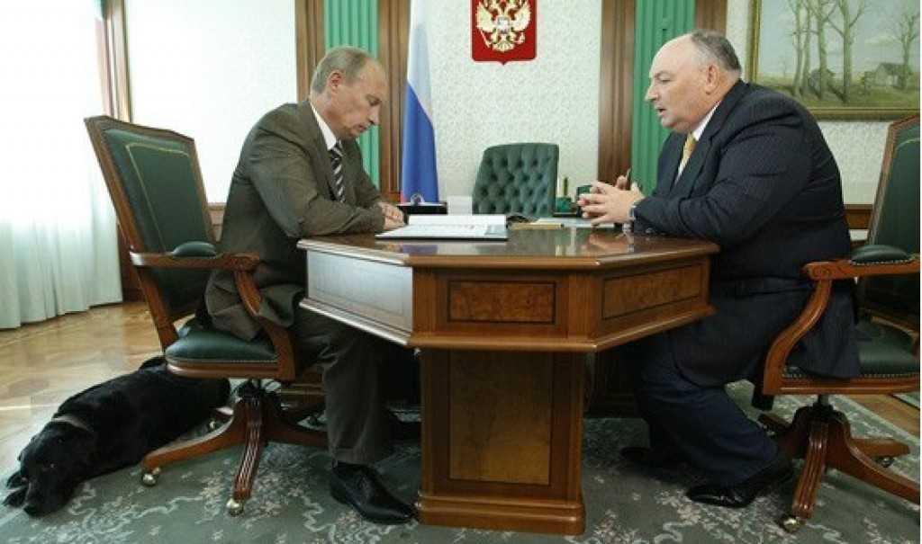 Вячеслав Моше Кантор и Путин Владимир Владимирович